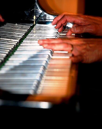 Silver Keyboard by nadinecreates