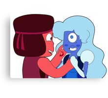 Roobie and Laughy Sapphy  Canvas Print