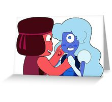 Roobie and Laughy Sapphy  Greeting Card
