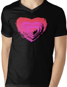 LAYERED LOVE Mens V-Neck T-Shirt