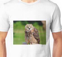 Juvenile Great Horned Owl Unisex T-Shirt