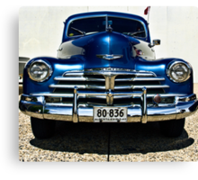 Chevy Canvas Print