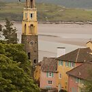 The Bell Tower and The Beach by JohnYoung