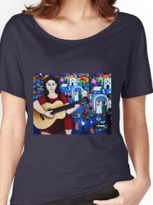 Black wedding collage Women's Relaxed Fit T-Shirt