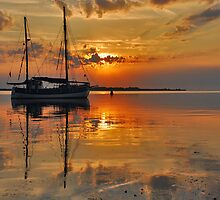 An early summer morning on Lake Grevelingen by Adri  Padmos