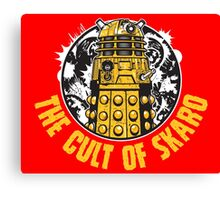 The Cult of Skaro Canvas Print