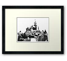 Walt Disney: A Man and a Mouse Framed Print