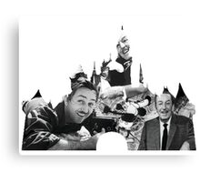 Walt Disney: A Man and a Mouse Canvas Print