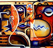 Urban Cubist by Kevin McDowell