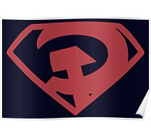 Man of Steel - Red Son Poster