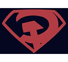 Man of Steel - Red Son Photographic Print