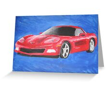 Brother's Corvette Greeting Card