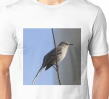 Bird on a wire. Unisex T-Shirt