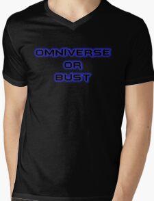 Omniverse or Bust Mens V-Neck T-Shirt