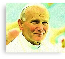 Pope JP II Beatification...now Saint John Paul II Canvas Print