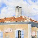 HOTEL et CAFE de la MAIRIE by ian osborne