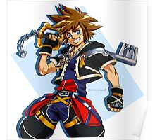 Sora and the Kingdom Key Poster