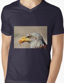 Eagle Profile Mens V-Neck T-Shirt