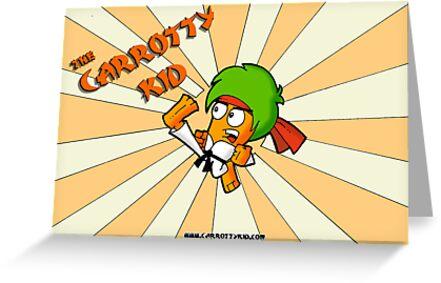 The Carrotty Kid: Sunburst Art by Fanton