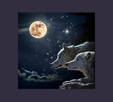 Wolves in the Moonlight Unisex T-Shirt
