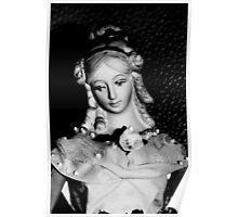 Antique replica Victorian Mannekin Bisque doll Poster