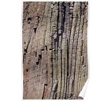 Climbers on Devils Tower Poster
