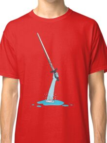 Excalibur and the Lady of the Puddle Classic T-Shirt