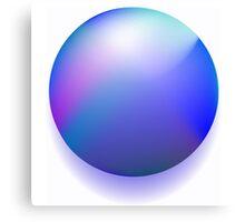Blue magic ball Canvas Print