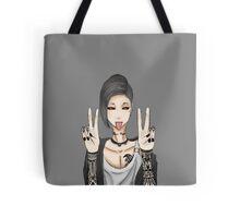 Tokyo Ghoul, Uta Peace Sign Tote Bag