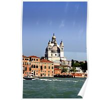 Sea View of Venice Poster