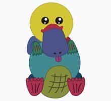 Rainbow Platypus Kids Clothes