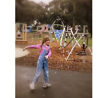 Bubbly Fun Photographic Print