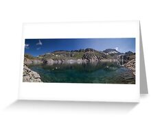At the Reservoir Greeting Card