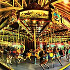 port dalhousie carousel by Brock Hunter