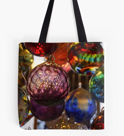 Glowing Witch Balls Tote Bag
