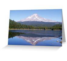 Trillium Lake Greeting Card