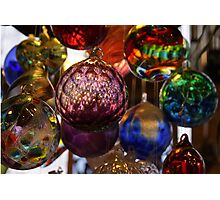 Glowing Witch Balls Photographic Print