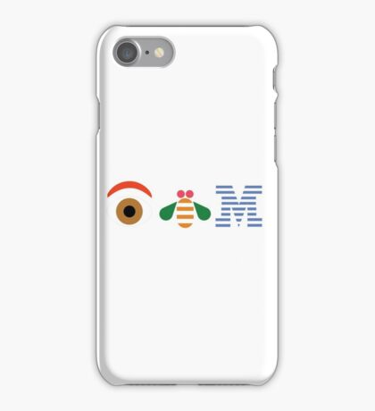 IBM Eye Bee M logo iPhone Case/Skin