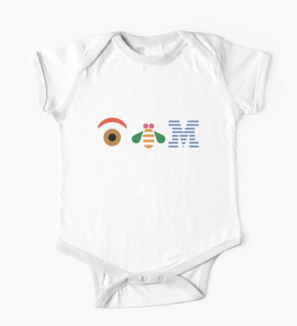 IBM Eye Bee M logo One Piece - Short Sleeve