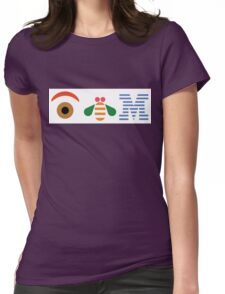 IBM Eye Bee M logo Womens Fitted T-Shirt