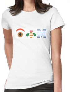 IBM Eye Bee M logo Womens Fitted T-Shirt