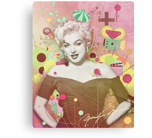 Marilyn Rendition Canvas Print