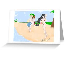Costa del Sol Greeting Card