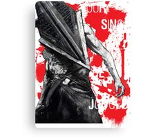 Your Sins Will Be Judged...again Canvas Print