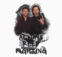Always Keep Fighting by Midgardian Fangirl