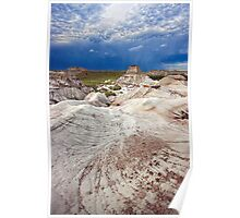 Storm over the Hoodoos Poster