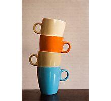 Coffee Cups Photographic Print