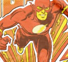 The Flash t shirt, iphone case & more Sticker