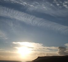 Looking towards the rumps! New Polzeath. Cornwall. by greenstone