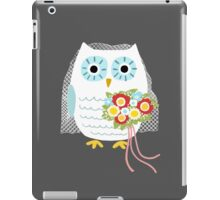Owl Bride iPad Case/Skin